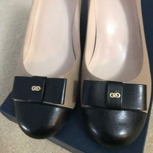 Cole Haan Elsie Two Tone Dress Shoes - NEW